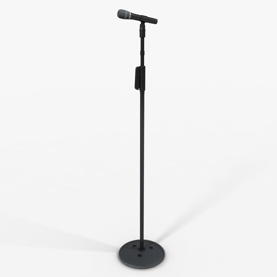 Microfono royalty-free 3d model - Preview no. 2