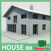 single family house 00 3d model