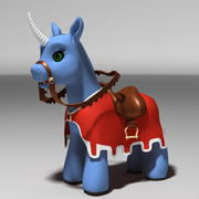 PONY UNICORN 3d model