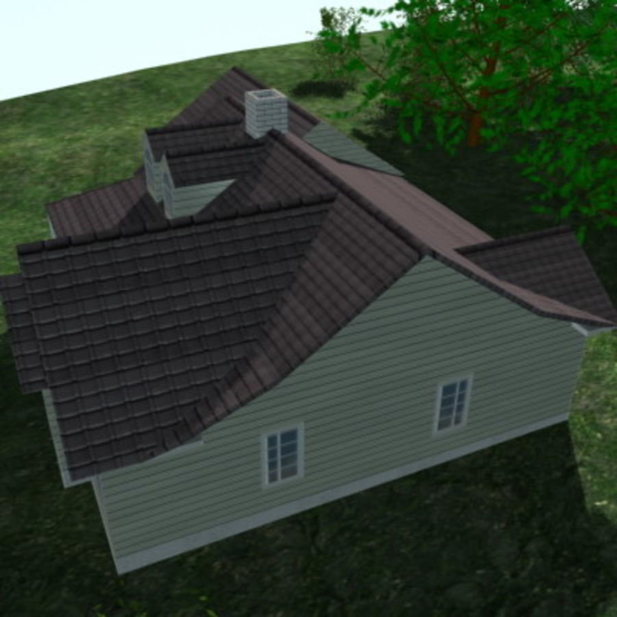 House_01.zip royalty-free 3d model - Preview no. 6