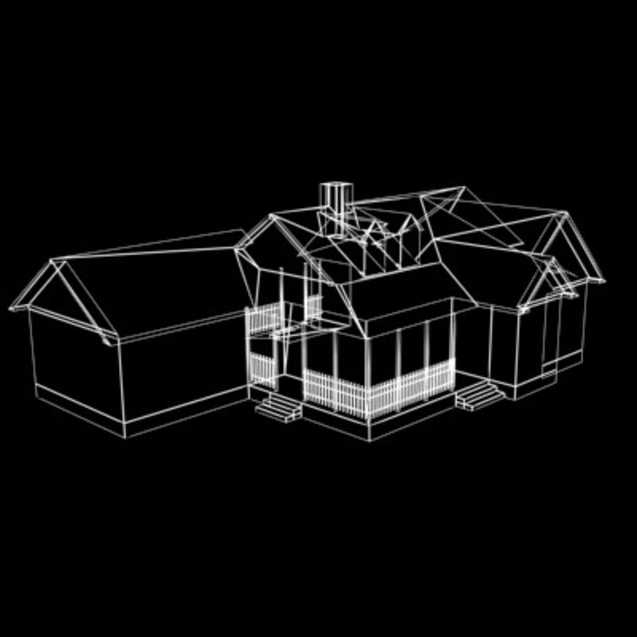 House_01.zip royalty-free 3d model - Preview no. 9