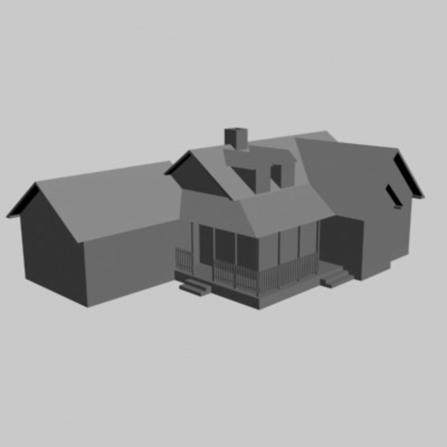 House_01.zip royalty-free 3d model - Preview no. 8