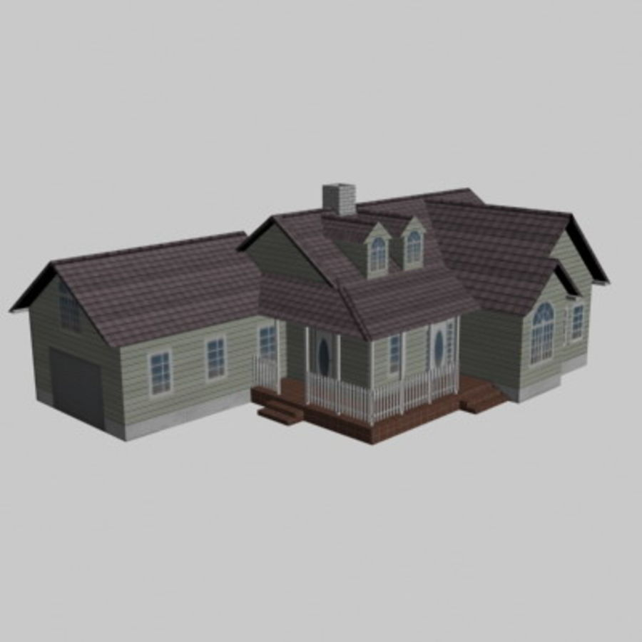 House_01.zip royalty-free 3d model - Preview no. 7