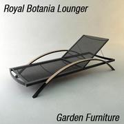 ガーデンラウンジャー 3d model