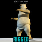 Tomby Rigged 3d model