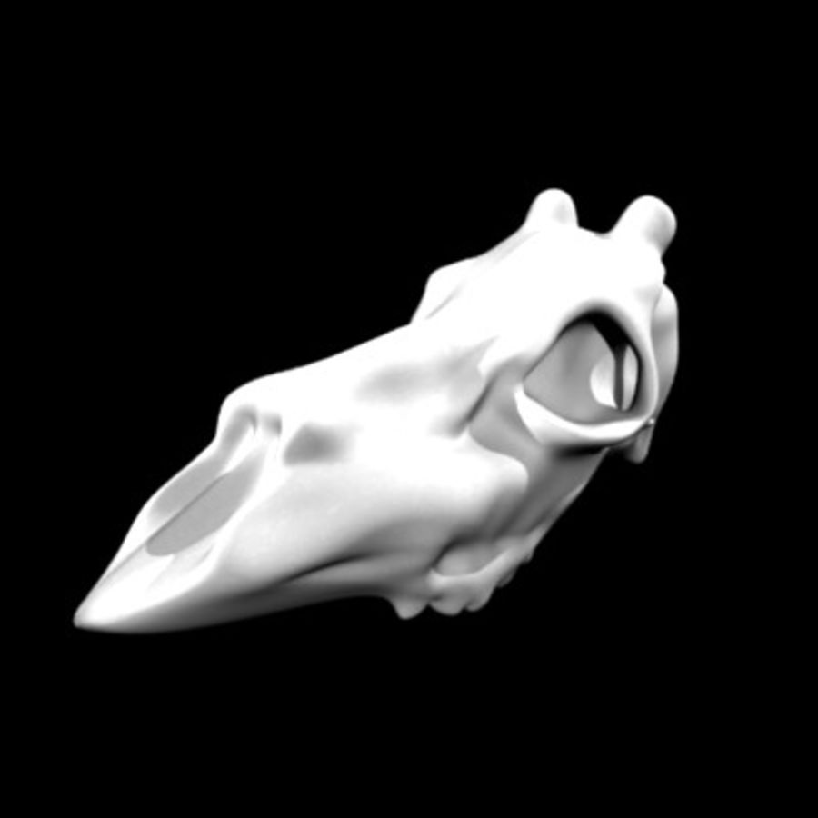 red deer3 royalty-free 3d model - Preview no. 4