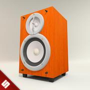 Wood Box Speaker 3d model