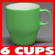 杯子系列 3d model