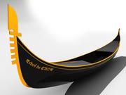 Gondole 3d model