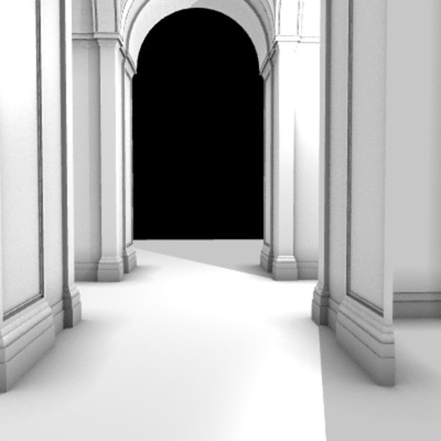 Iglesia.el3 royalty-free modelo 3d - Preview no. 53