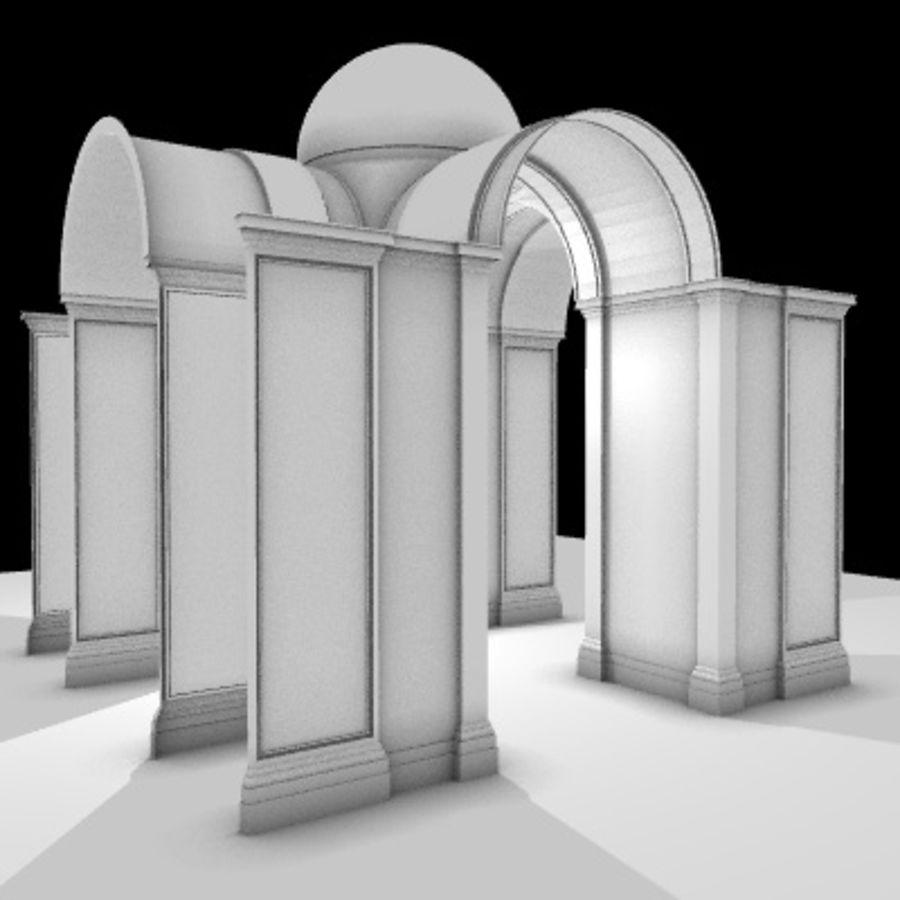 Iglesia.el3 royalty-free modelo 3d - Preview no. 25