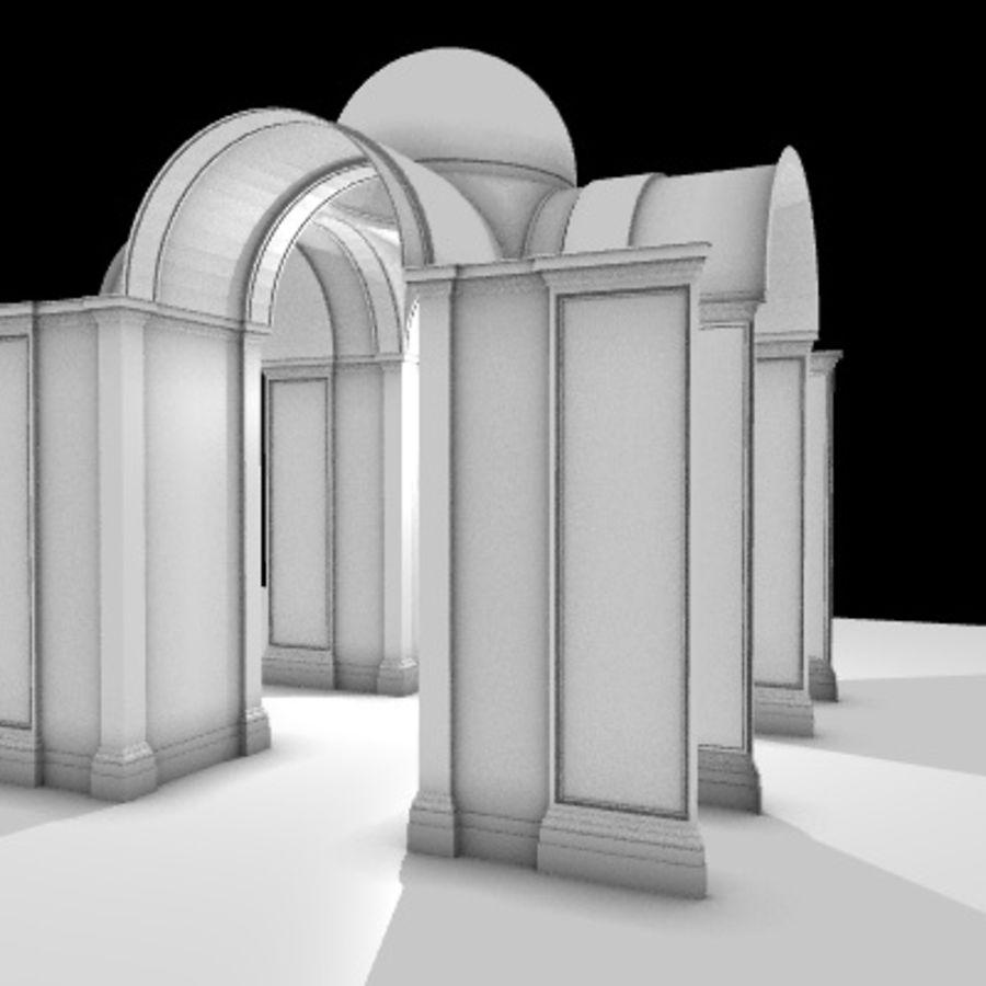 Iglesia.el3 royalty-free modelo 3d - Preview no. 30