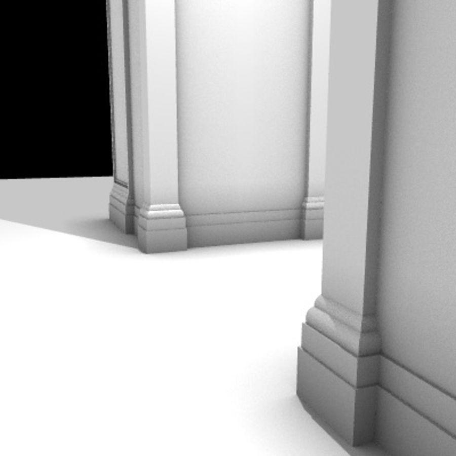 Iglesia.el3 royalty-free modelo 3d - Preview no. 60
