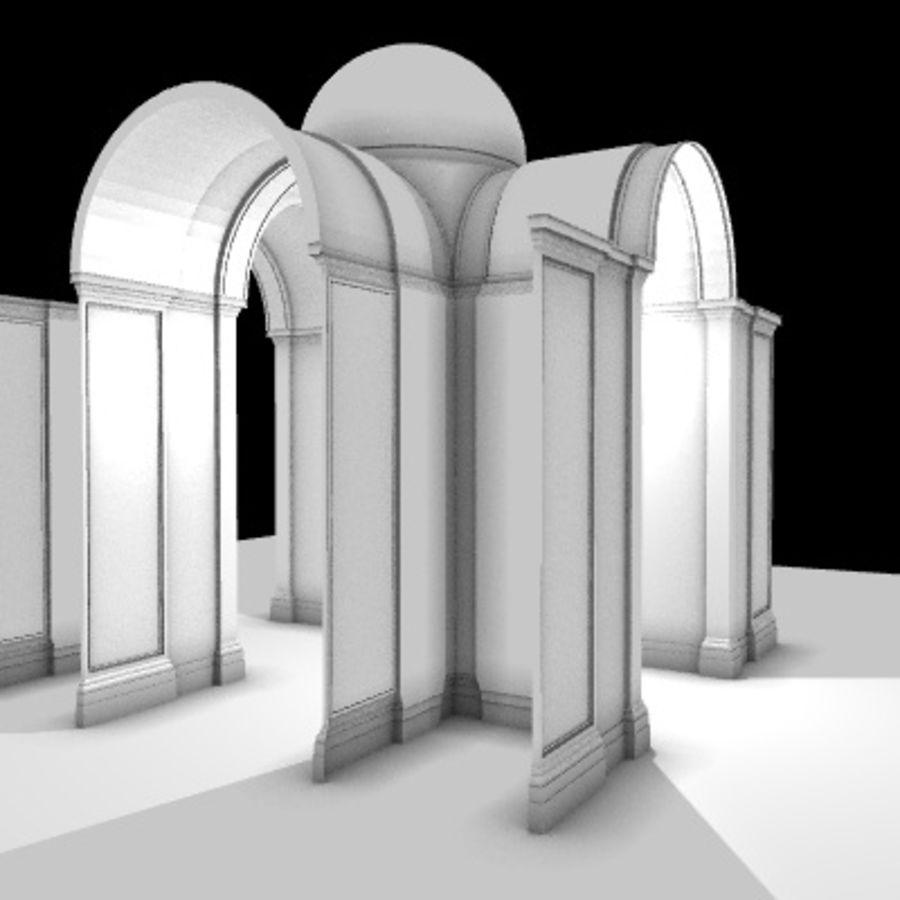 Iglesia.el3 royalty-free modelo 3d - Preview no. 6