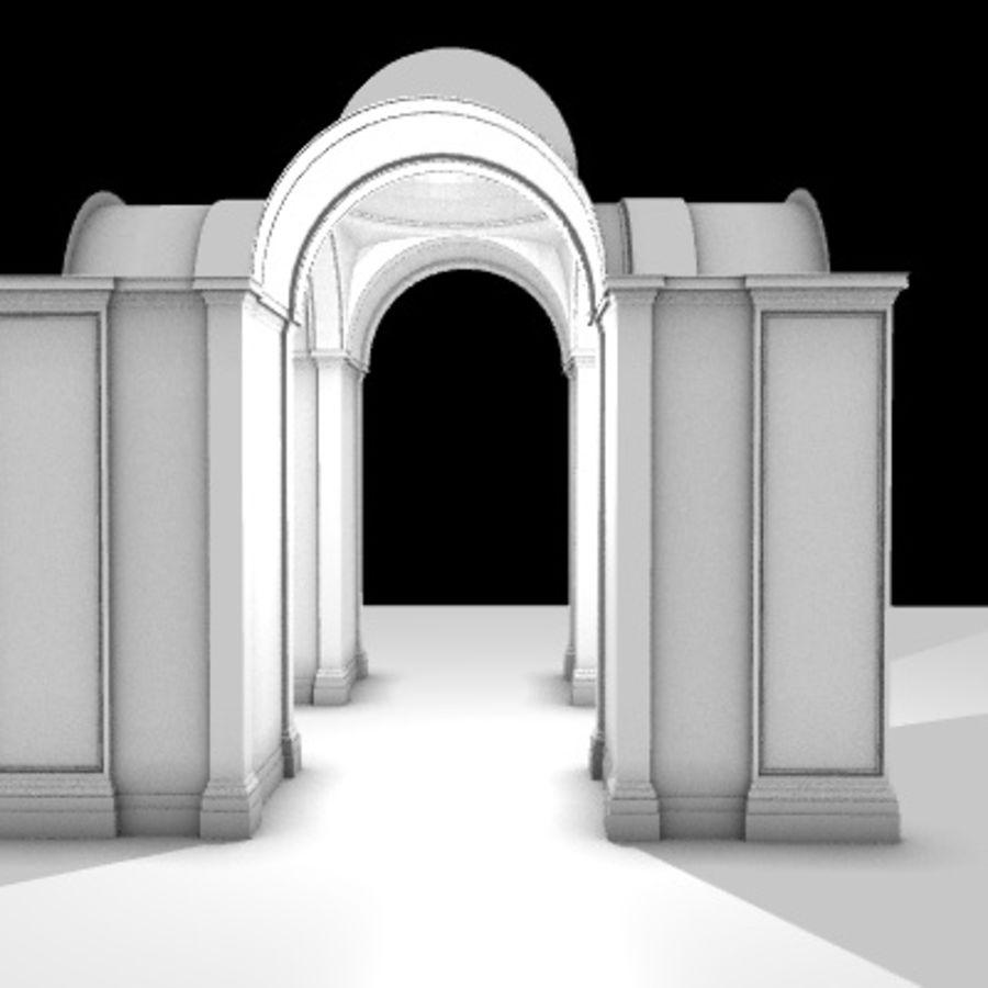 Iglesia.el3 royalty-free modelo 3d - Preview no. 14