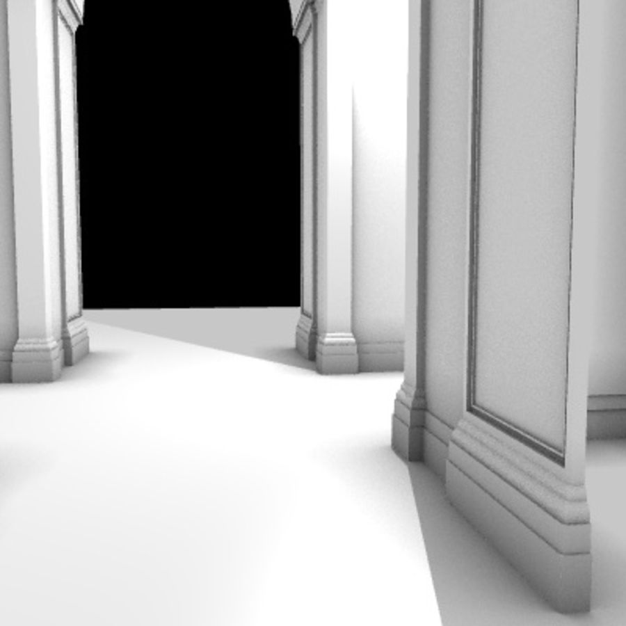 Iglesia.el3 royalty-free modelo 3d - Preview no. 59