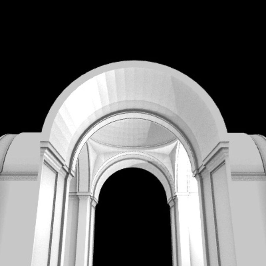 Iglesia.el3 royalty-free modelo 3d - Preview no. 42