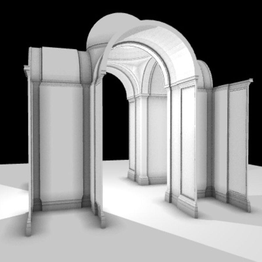 Iglesia.el3 royalty-free modelo 3d - Preview no. 20