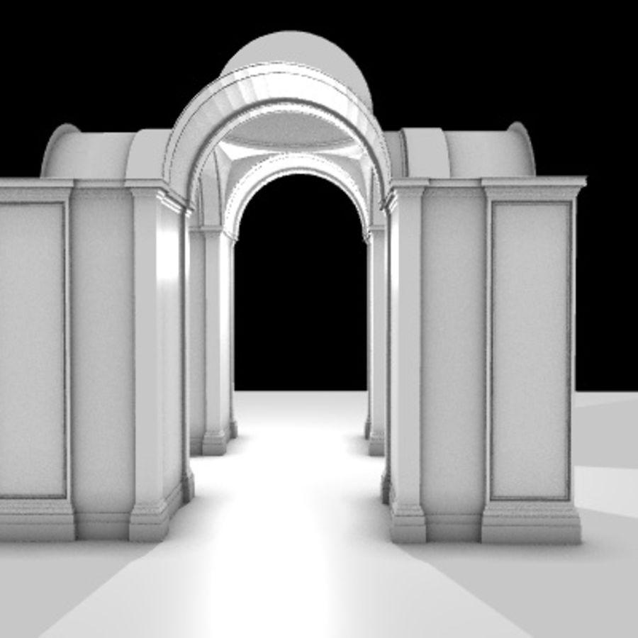 Iglesia.el3 royalty-free modelo 3d - Preview no. 28