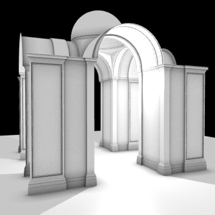 Iglesia.el3 royalty-free modelo 3d - Preview no. 10