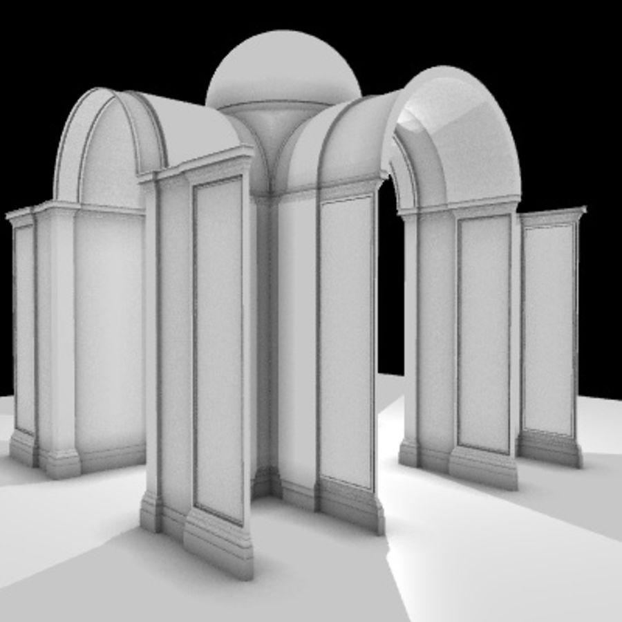 Iglesia.el3 royalty-free modelo 3d - Preview no. 32