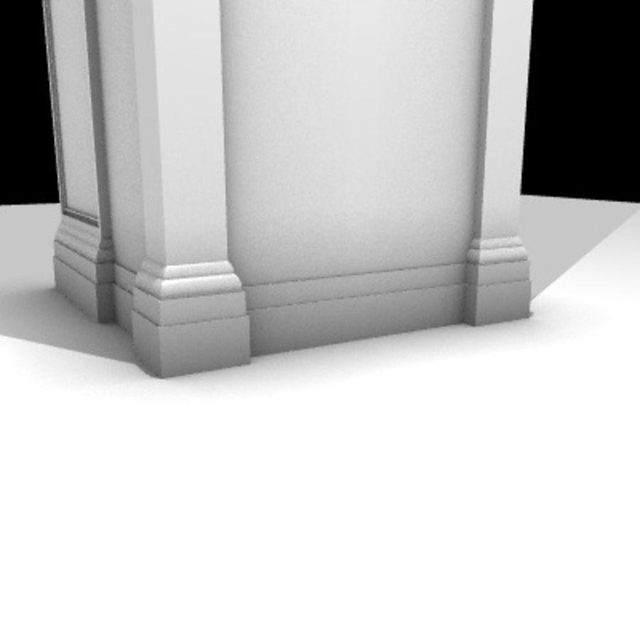 Iglesia.el3 royalty-free modelo 3d - Preview no. 67