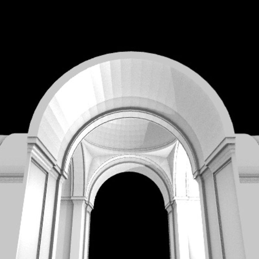 Iglesia.el3 royalty-free modelo 3d - Preview no. 43