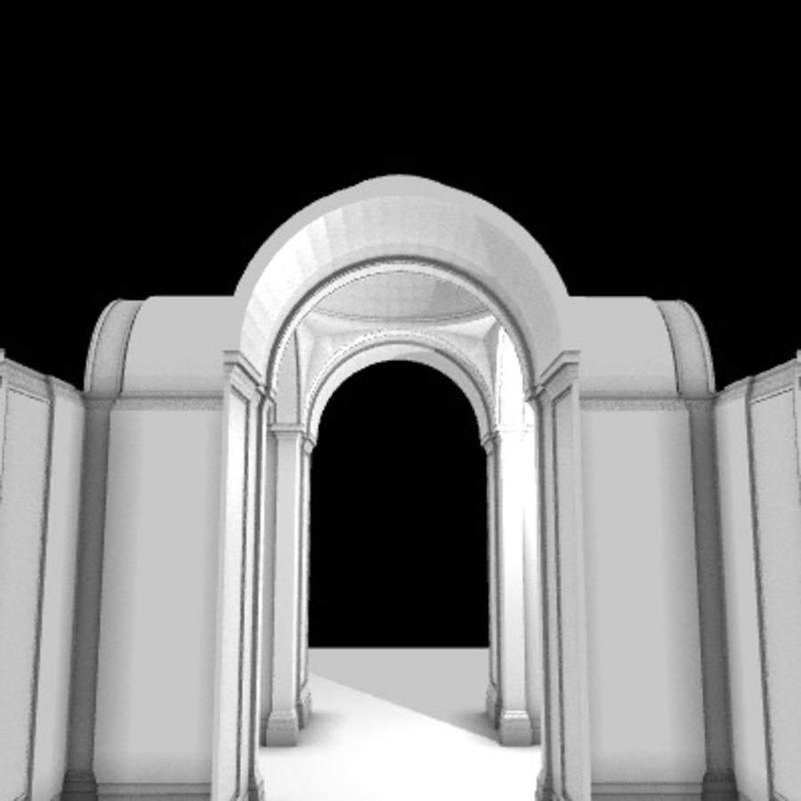 Iglesia.el3 royalty-free modelo 3d - Preview no. 36