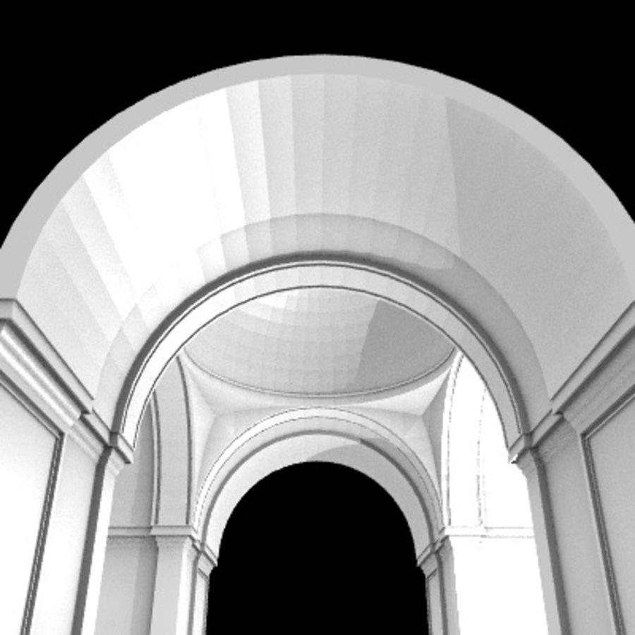 Iglesia.el3 royalty-free modelo 3d - Preview no. 46
