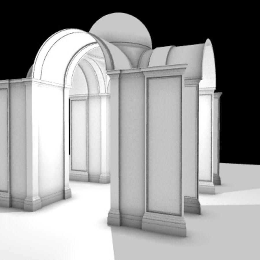 Iglesia.el3 royalty-free modelo 3d - Preview no. 13