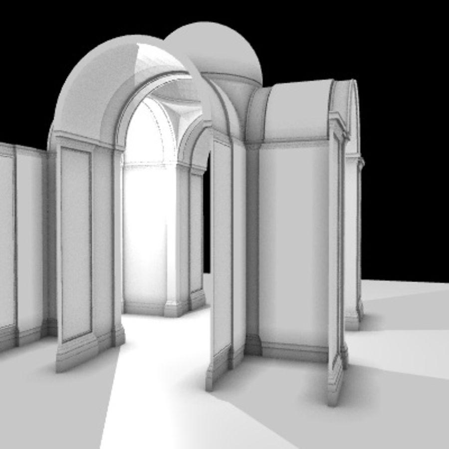 Iglesia.el3 royalty-free modelo 3d - Preview no. 22