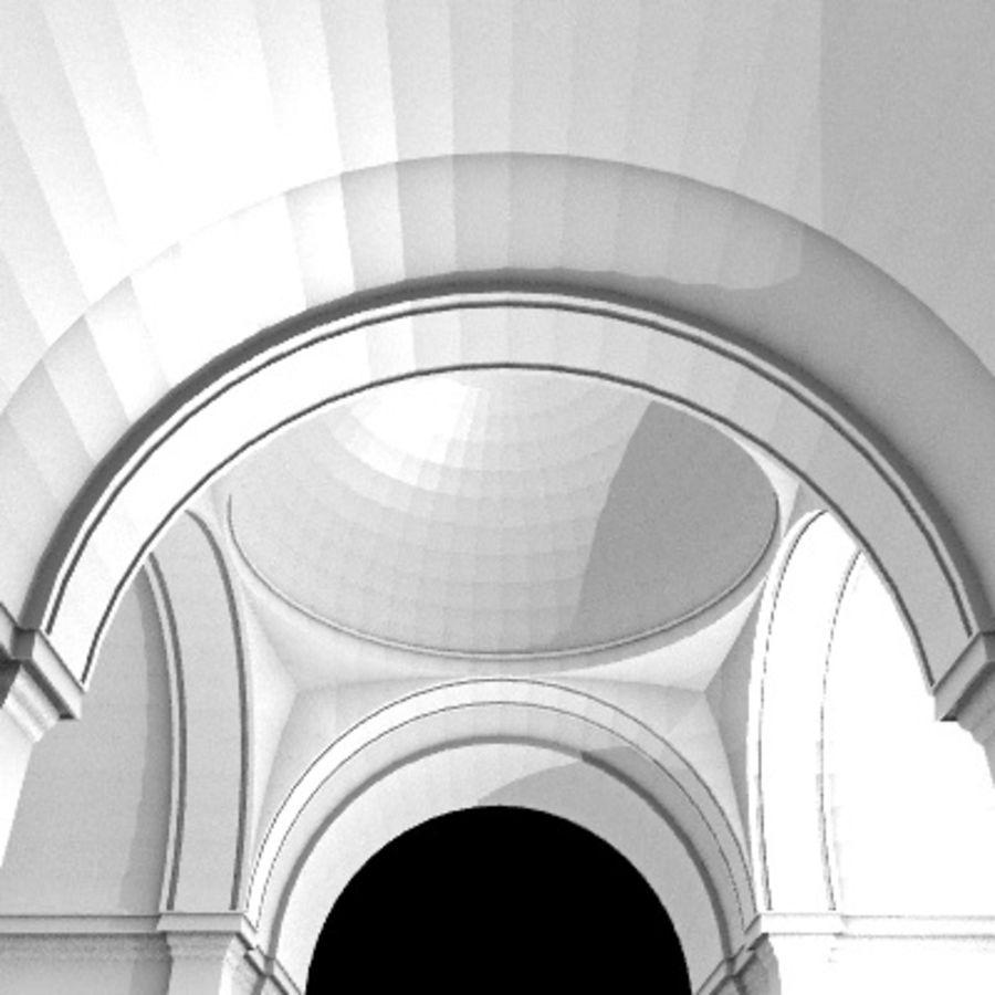 Iglesia.el3 royalty-free modelo 3d - Preview no. 48