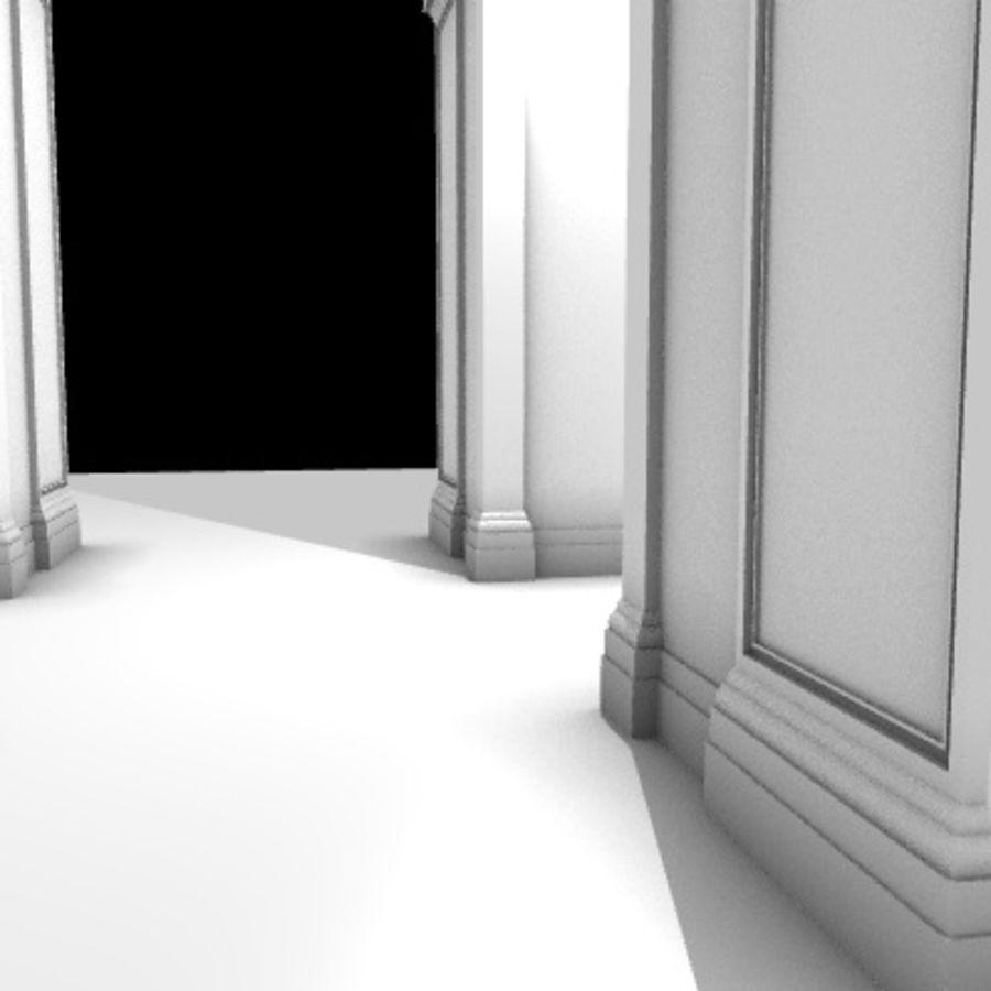 Iglesia.el3 royalty-free modelo 3d - Preview no. 58