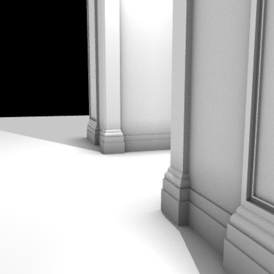 Iglesia.el3 royalty-free modelo 3d - Preview no. 63