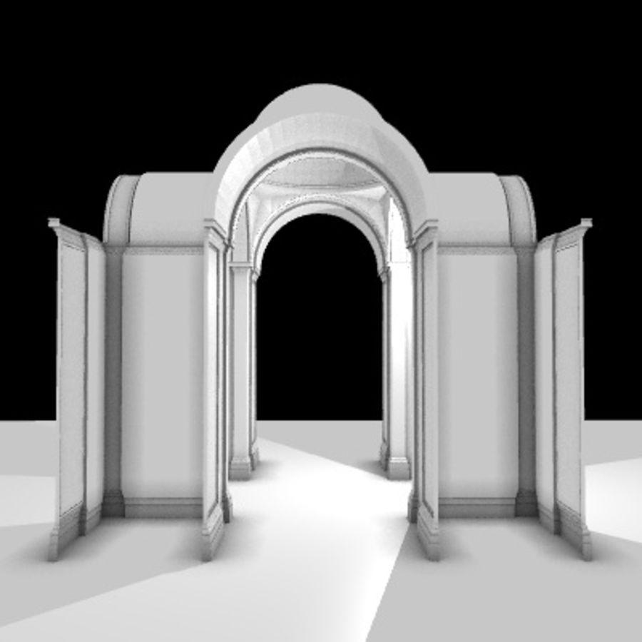 Iglesia.el3 royalty-free modelo 3d - Preview no. 34