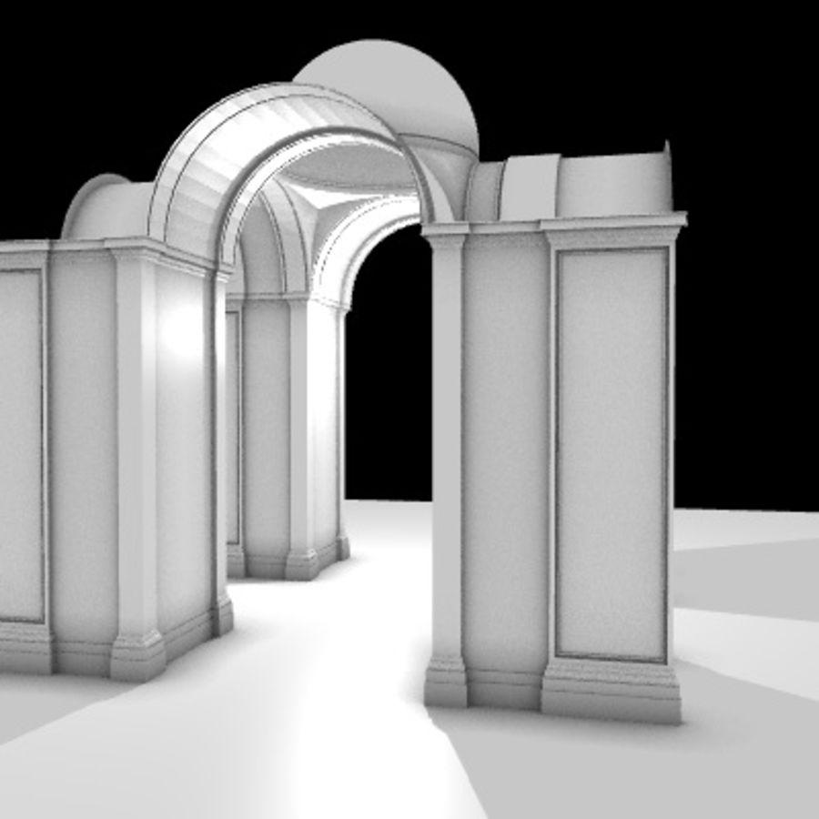 Iglesia.el3 royalty-free modelo 3d - Preview no. 29