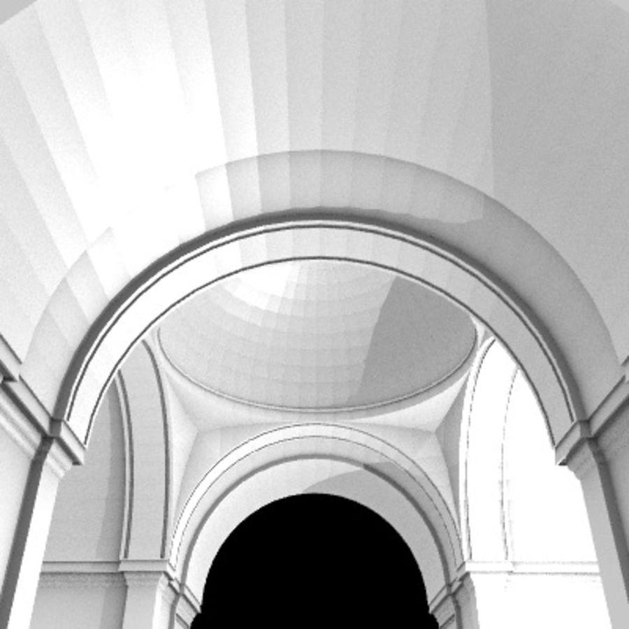 Iglesia.el3 royalty-free modelo 3d - Preview no. 1