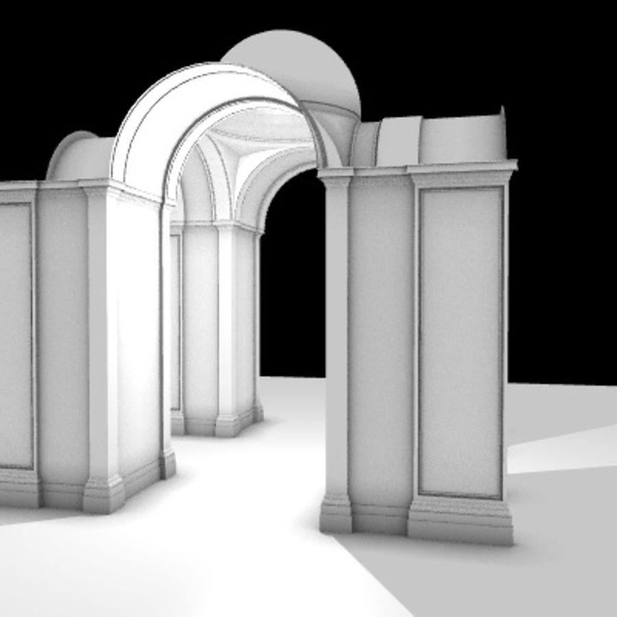 Iglesia.el3 royalty-free modelo 3d - Preview no. 16