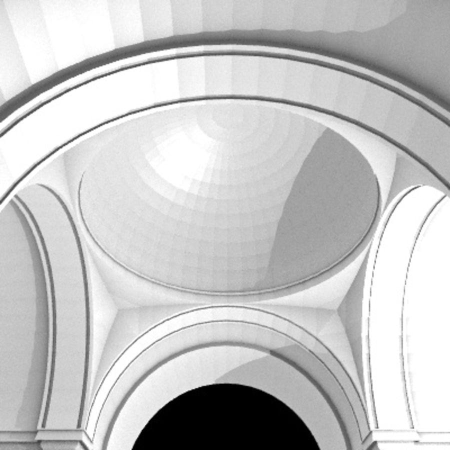 Iglesia.el3 royalty-free modelo 3d - Preview no. 47