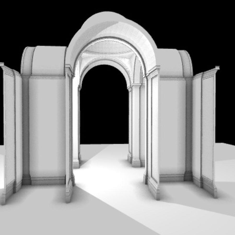 Iglesia.el3 royalty-free modelo 3d - Preview no. 19