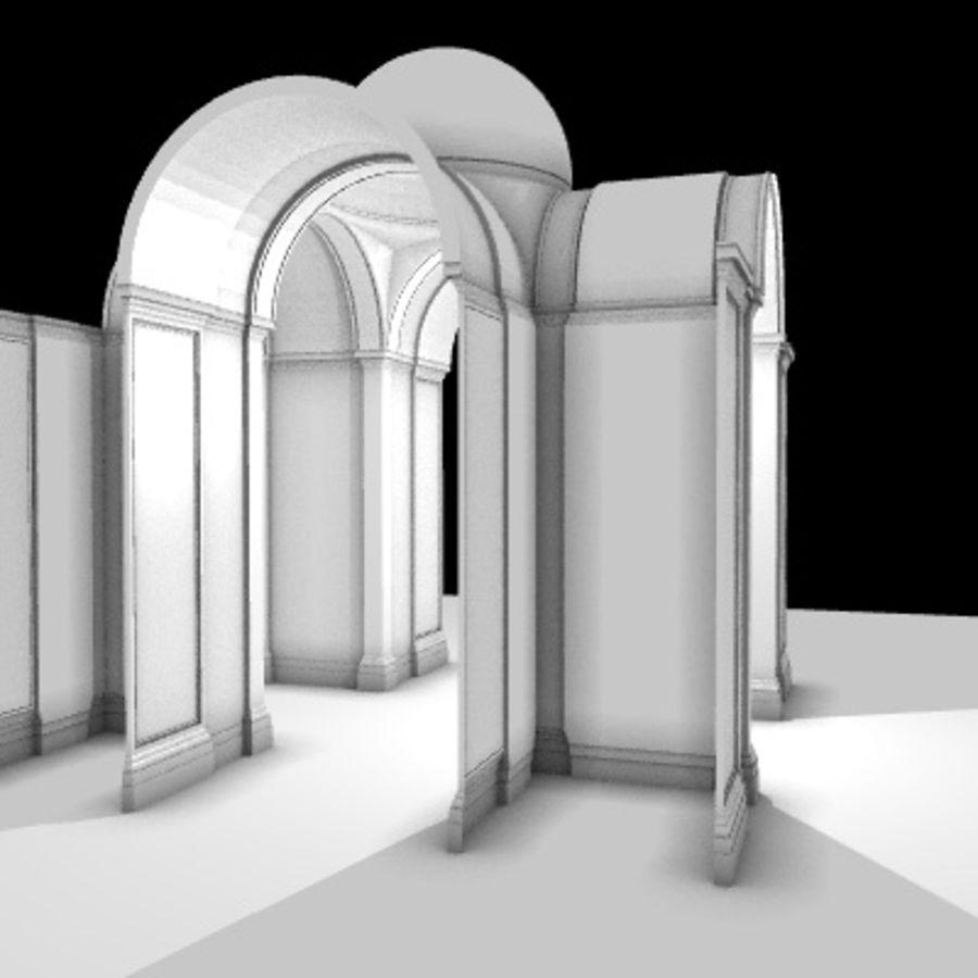 Iglesia.el3 royalty-free modelo 3d - Preview no. 8