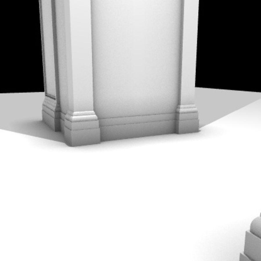 Iglesia.el3 royalty-free modelo 3d - Preview no. 65