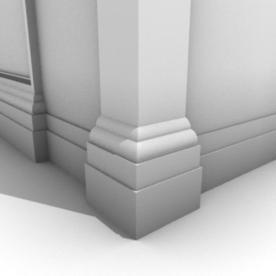 Iglesia.el3 royalty-free modelo 3d - Preview no. 2