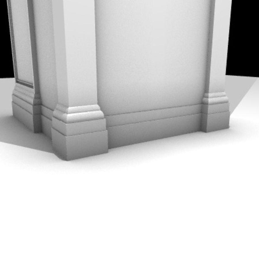 Iglesia.el3 royalty-free modelo 3d - Preview no. 70