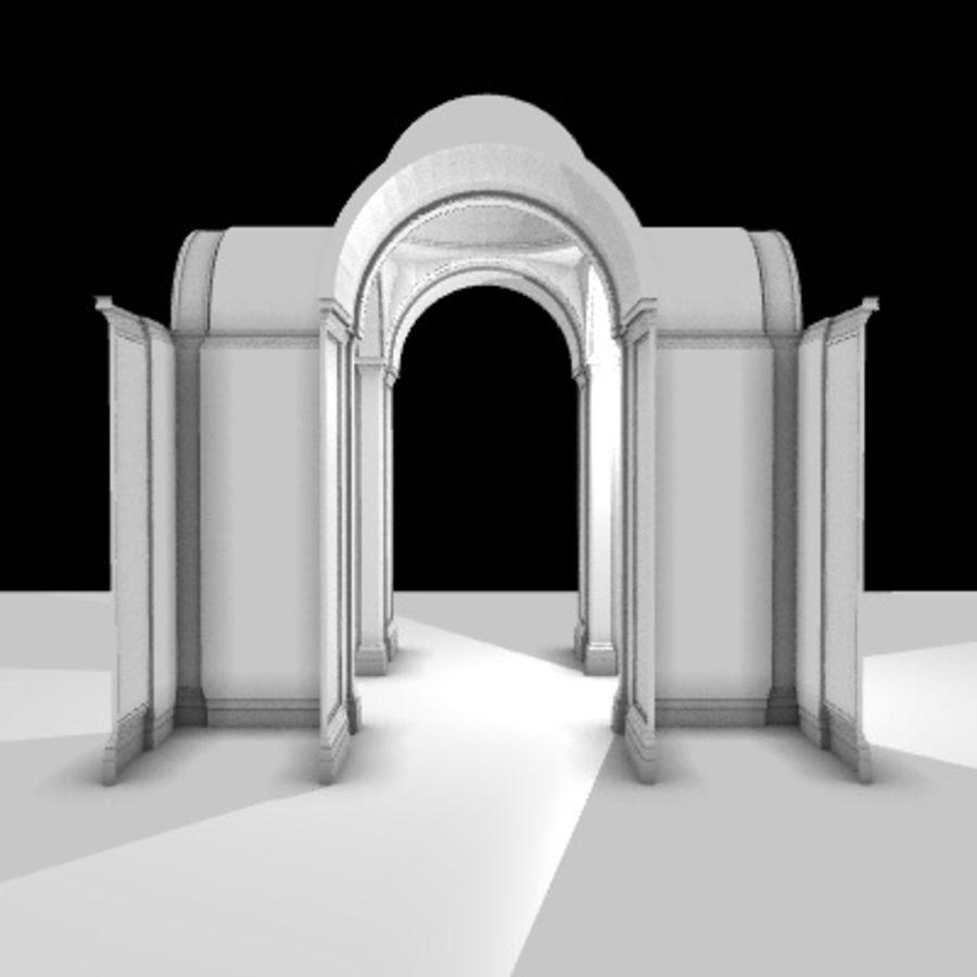 Iglesia.el3 royalty-free modelo 3d - Preview no. 33
