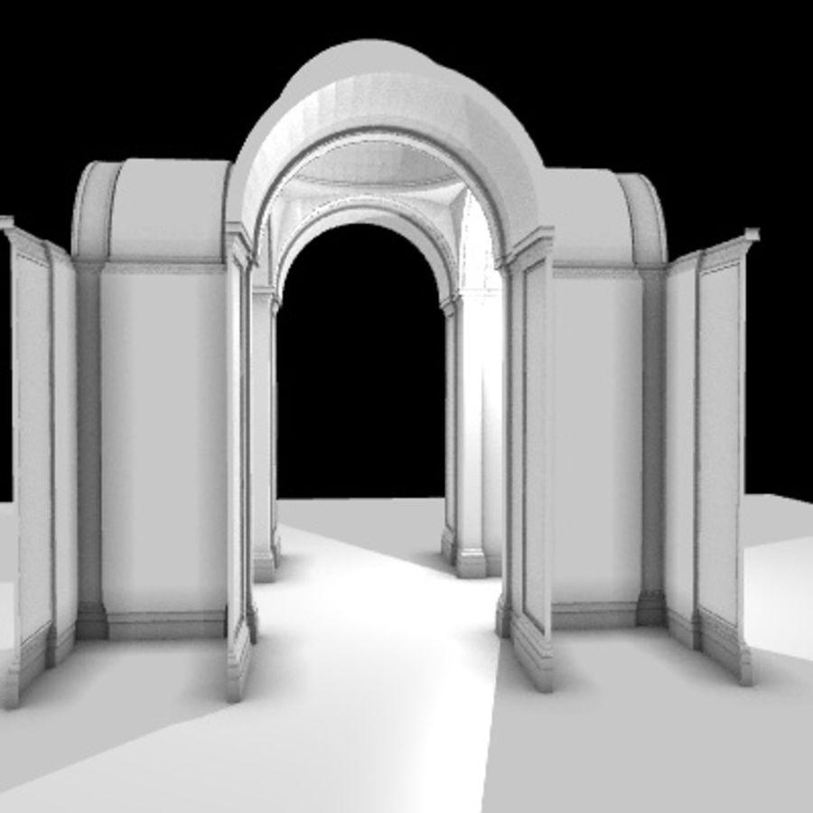 Iglesia.el3 royalty-free modelo 3d - Preview no. 5