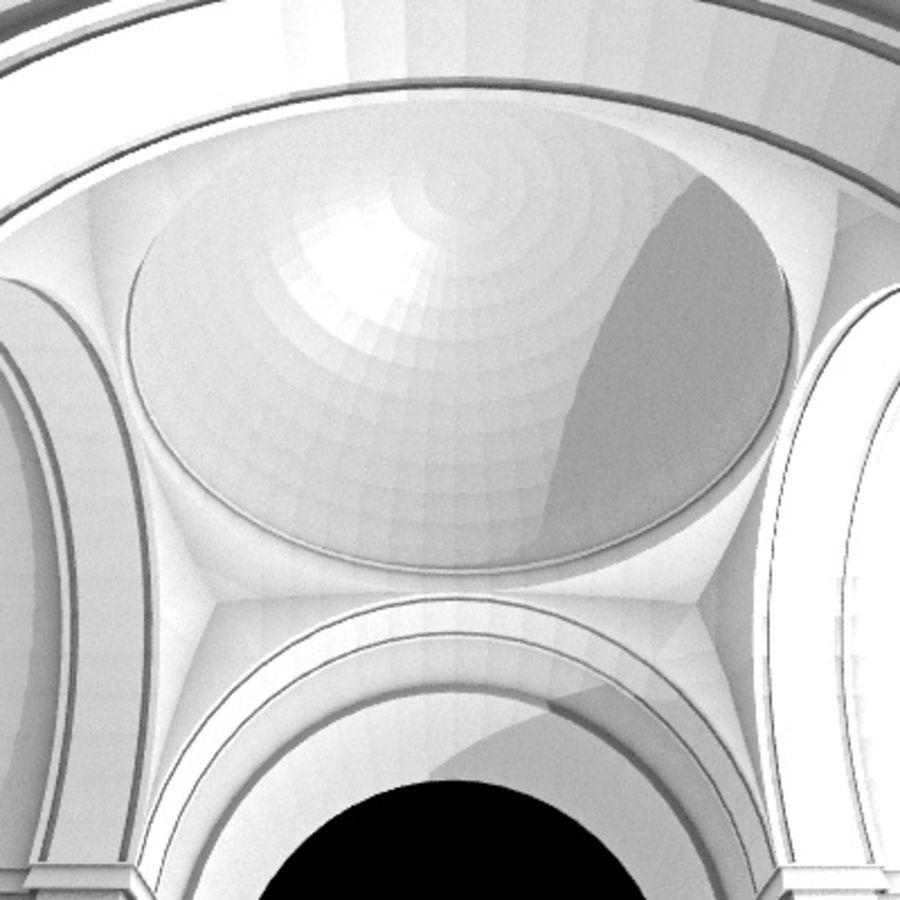 Iglesia.el3 royalty-free modelo 3d - Preview no. 50
