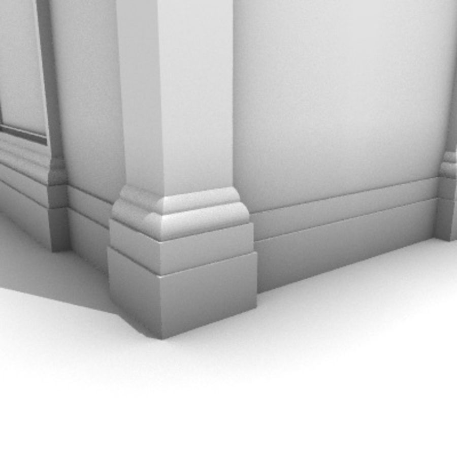 Iglesia.el3 royalty-free modelo 3d - Preview no. 71