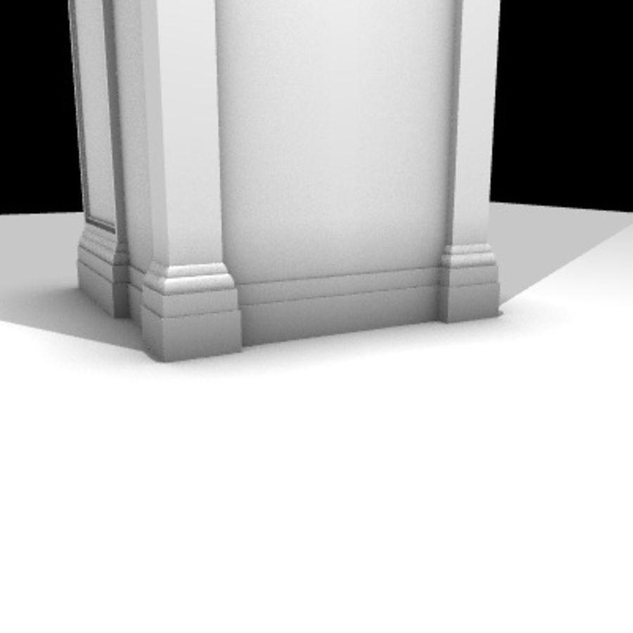 Iglesia.el3 royalty-free modelo 3d - Preview no. 66