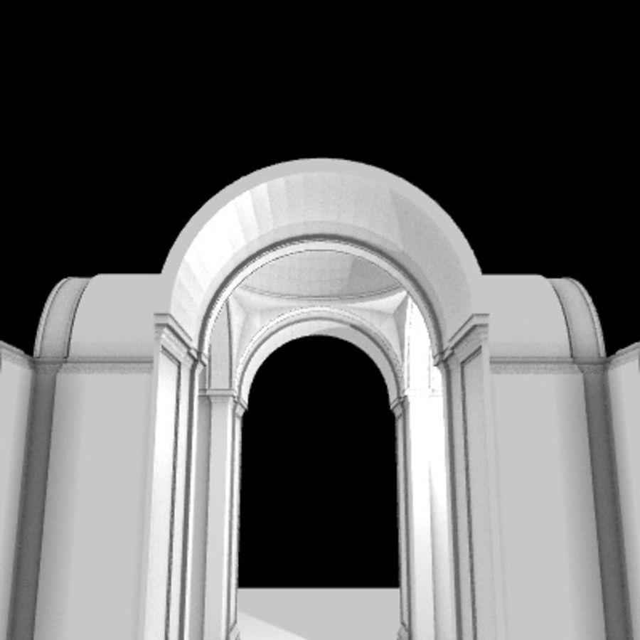 Iglesia.el3 royalty-free modelo 3d - Preview no. 39